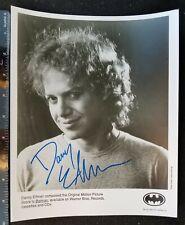 Danny Elfman signed BATMAN photo early full autograph Oingo Boingo Burton proof