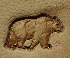 CRAFTOOL - TANDY LEATHER - MINI  2D 3D STAMP - 8822 -  BEAR  - 8822-00  -  NEW