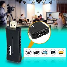 Mini Portable USB 2.0 Port HD HDMI 1080P 60fps Video Capture Card Monitor for PC