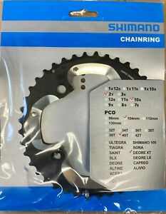 Shimano Deora XT FC-M785 chainring 40T AJ 10 Speed Outer