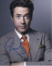 Robert Downey Jr autographed 8x10 photograph RP