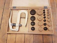 Vintage Rudolf Flume European MFG. Watch Crystal Press Watch Repair Tools