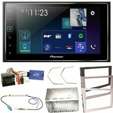 Pioneer SPH-DA130DAB USB MP3 Bluetooth Einbauset für Opel Vectra Meriva Signum C