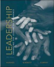 Leadership: Enhancing the Lessons of Experience ( Hughes,Richard ) Used -