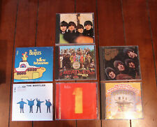 Lot 7 Beatles CDs  (Help & Yellow Submarine brand new) Rubber Soul For Sale