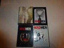 Mad Men Season 1-4 (DVD, 16-Disc) Season 1, 2, 3 & 4 LOT  B205