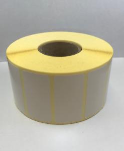 60mm x 25mm Direct Thermal  Labels - 2,000 per Roll - 38mm Core - Zebra