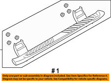 FORD OEM 15-16 F-150-Running Board Step FL3Z16450BD