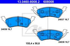 Bremsbelagsatz, Scheibenbremse für Bremsanlage Hinterachse ATE 13.0460-8008.2