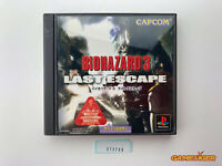 BIOHAZARD 3 Last Escape PS1 Sony Playstation JAPAN Ref:313706