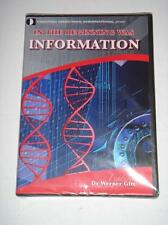 IN THE BEGINNING WAS INFORMATION by Creation Ministries International NEW DVD