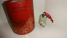 *NEW* Waterford Crystal Christmas Ornament HOLLY GLITTER ICE SKATES New Box