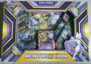 Pokemon Karten Mewtwo/Mewtu EX Box *Rarität* Englich OVP/NEU PSA