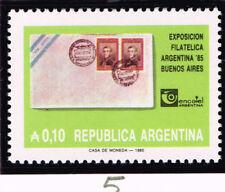 Argentina Philatelic Expo stamp 1985 MNH