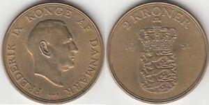Danemark Monnaie 2 kroner 1951