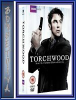 TORCHWOOD - COMPLETE SERIES 1 2 3 & 4 +SPECIALS**BRAND NEW DVD**