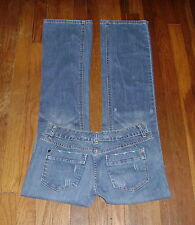 Womens Jeans Size 6 Reg - Mossimo LRBC Distressed Stretch