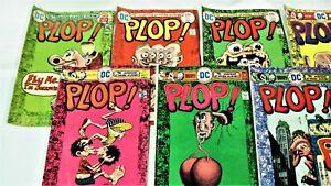 Plop-Weird Humor-Bronze Age-10 Book Lot