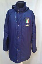 Italy Neil Barrett x Puma Football Training Jacket Rare Soccer Parka Coat Sz XL