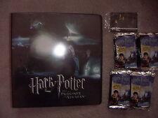 HARRY POTTER AND THE PRISONER OF AZKABAN 1 x Folder 36 packs of Cards , 2 Promos