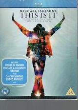 MICHAEL JACKSON - This Is It - Blu-Ray *NEW & SEALED*