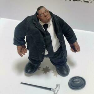 The Notorious B.I.G. MEZCO Notorious Biggie Figure Used Black