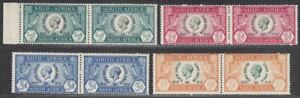 South Africa 1935 KGV Silver Jubilee Mint Set Pairs SG65-68 cat £45