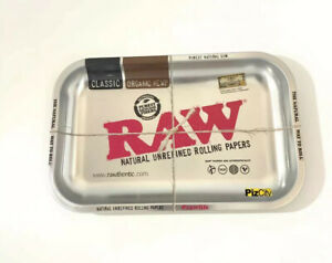 Official RAW Silver Metallic Tray - Small Size - Limited Edition