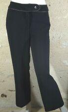 BURTON OF LONDON Taille 40 Superbe pantalon noir femme polyester trousers