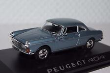 PEUGEOT 404 Coupe Blu Metallizzato 1:43 Norev NUOVO & OVP 474434