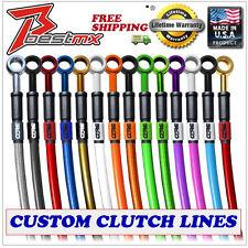2003 - 2012 KTM 450SXF Clutch Line Custom Stainless Steel Braided Clutch Line