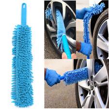 "Car Wash Brush Flexible 16"" Long Microfiber Noodle Chenille Alloy Wheel Cleaner"