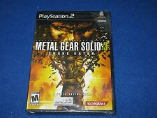 Metal Gear Solid 3 : Snake Eater (FACTORY SEALED ) - Playstation 2 - NTSC U/C