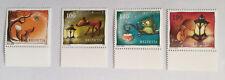 4 timbres suisses  YT CH2242/2245, Zum:CH 1484/1487 neufs** vignette inférieure