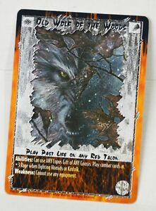 Rage Foil CCG Old Wolf of the Woods card