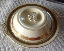 Vintage Burleigh Zenith Casserole Dish With Lid