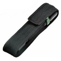 1PC Black Nylon Holster Holder Belt Pouch Case Bag for LED Flashlight Torch Lamp