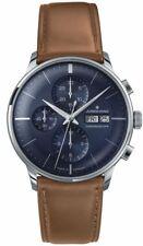 AUTHORIZED DEALER Junghans 027/4526.01 Meister Chronoscope SunrayBlue Dial Watch