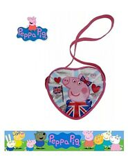 Official Peppa Pig Cross Body Glorious Britain Bag Coin Pouch 18 Cm