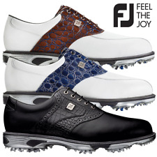FOOTJOY DRYJOY TOUR MENS LEATHER WATERPROOF GOLF SHOES / ALL COLOURS & SIZES