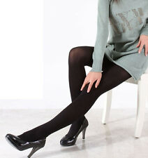 Women Ladies Fashion Opaque Footed Hosiery Pantyhose Stocking Sock Tights Black