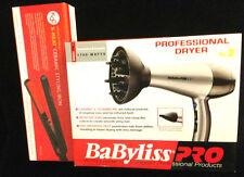 "Kqc X-Heat 1"" Flat Iron + FREE Babyliss Pro Tourmaline and Ceramic Hair dryer"
