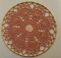 Choose Between Several Designs Crochet Doily in Ring Wall Hanging Dream Catcher