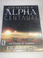 Sid Meier's Alpha Centauri PC game CD-ROM EA Classics 2000 Windows 95 98 NEW