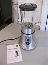 Super Clean GE Die Cast Glass Kitchen Blender (non-commercial) w/Manual
