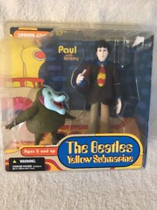 The Beatles Yellow Submarine Paul With Jeremy Action Figure Spawn New