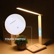 LED Schreibtischlampe Tischlampe dimmbar Leselampe Büroleuchte LCD Bildschirm DE