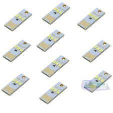 10 Pcs Mini 3 LED USB Night Light Pocket Lamp for PC Laptop Computer