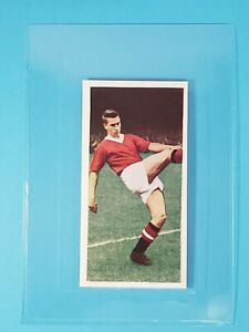 1958 Cadet Sweets Footballers RC Bobby Charlton Manchester United England #25 ⚽