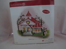 Dept 56 Snow Village Chapel of Love #56.55354 Rare Hard to Find